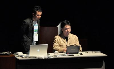 CSS Nite in AOMORI2009講演の様子