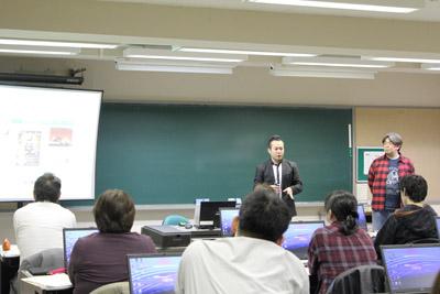 画像:青森県ICTリテラシー研修の様子