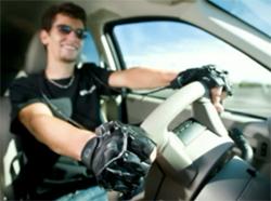 画像:DriveGripを装着したドライバー