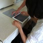 視覚障害者向けiPad講習会の様子