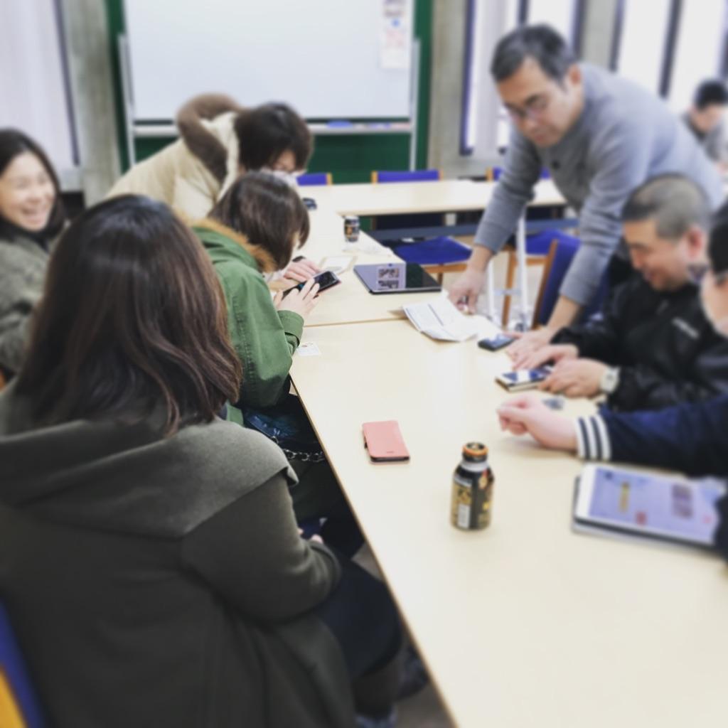 弘前市での講習・交流会の様子